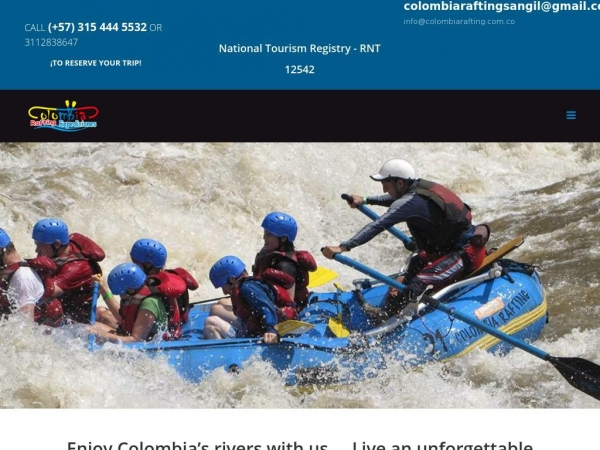 colombiarafting.com