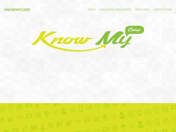 knowmycard.com