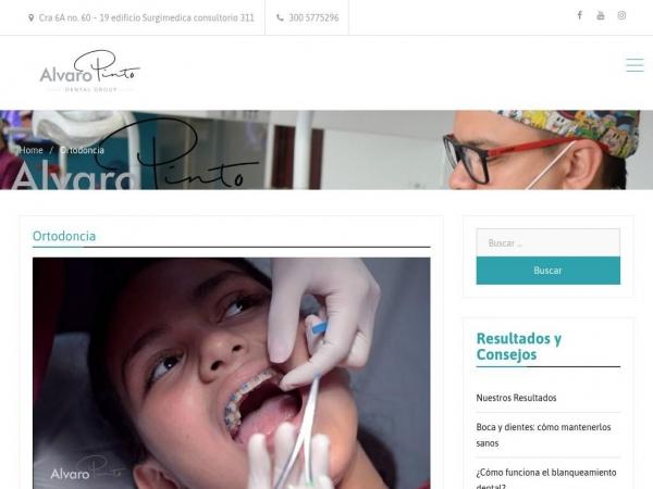 ortodonciaalvaropinto.com